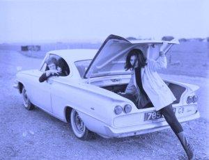 Andrew Loog-Oldham, Sheila Klein & Linda Keith - 1965