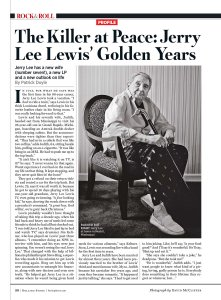 Rolling Stone 6 November 2014.