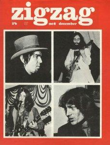 * Журнал Zigzag (December 1969).