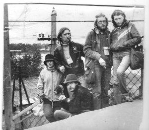 Хиппи XX-го века,1984-й год,между Питером и Москвой,Бологое