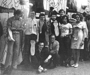 Уно коллективо тотале, 1973 ДК МГУ
