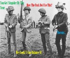 Когда нибудь появится сообщение о прохождении The Beatles военной  службы  в ВВС Сша