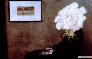 Есть несколько смешных моментов в фильмах Мистер Бин и его продолжении Каникулы Мистера Бина.
