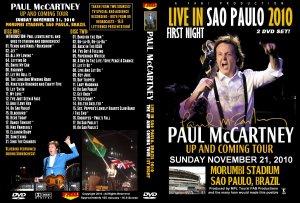 Пол любит Сан-Паулу, у него там была масса концертов, известных по DVD