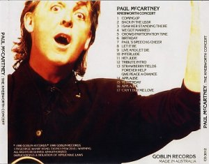 Маккартни мог бы выпустить все свое выступление. А оно было весьма примечательным. Да еще с битловскими номерами Джона.