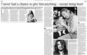 Вот такой любопытный материал в сегодняшней лондонской The Times.