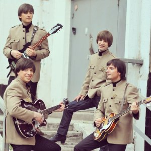 Участники фестиваля - группа Beatlove (Москва)
