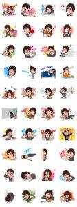Brand NEW Paul McCartney LINE Stickers!