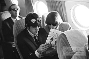 Bob Bonis with The Beatles