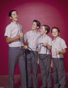 Alan, Wayne, Merril, and Jay Osmond