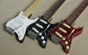 GrassRoots GR-PGG 3TS electric travel guitar