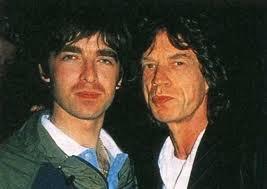 Noel Gallagher & Mick Jagger