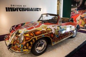 Психоделический Porsche Дженис Джоплин продали за $1,76 млн.