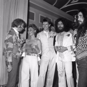 1974: While married to Angela Barnett, Bowie began a brief but passionate affair with Scots singer Lulu - who, in an interview with the Daily Mail, said they were connected because of the music.