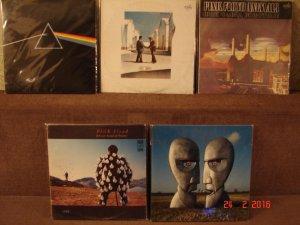 4. И какая же коллекция будет без Pink Floyd.  Здесь далеко не все, что хотелось бы иметь...   Две англичанки, парочка Антроп и родная Мелодия.