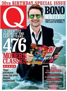 Q Magazine 30th Birthday Special 2016.