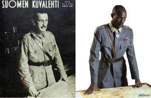 Был же фильм о финском маршале Густаве Маннергейме с африканским актером. Весело!