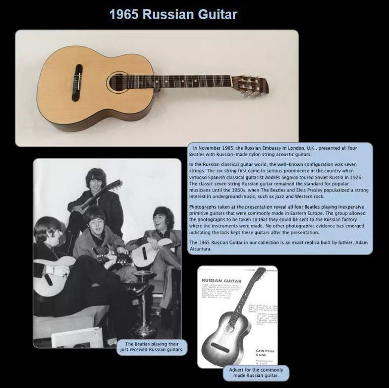 BootlegZone • View topic - The Beatles' Soviet Guitars