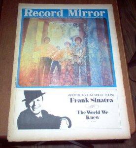 Record Mirror  август 1967