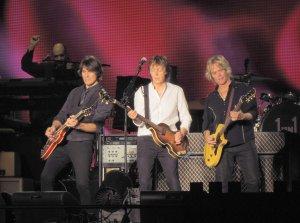 на концерте в Нью Джерси 7 августа