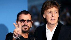 Звезды на премьере фильма о The Beatles