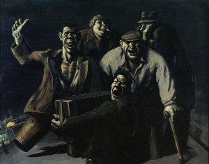 Жестокая социальная ирония о жизни в России — художник Василий Шульженко.