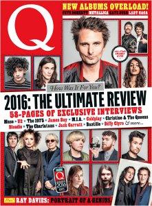 Q Magazine January 2017. 132 стр., 55 Мб, True PDF.