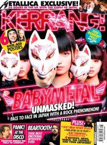 Kerrang! 3 December 2016.