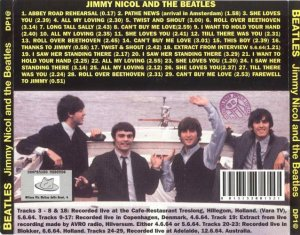 Jimmy Nicol and The Beatles (1995)