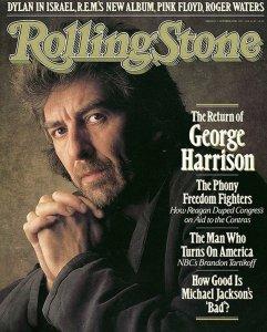 Обложка журнала Rolling Stone (22.10.1987)