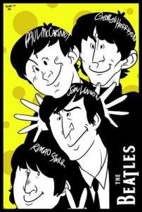 Карикатуры и шаржи на The Beatles