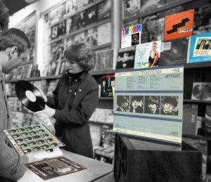 Фотография (в заглавном сообщении) сделана не раньше 1986 года, но всё ещё в продаже есть пластинка выпускавшаяся Мелодией в 70-ых годах... Как-то это странненько.