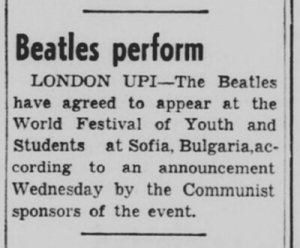 * Daily Banner, October 20, 1967