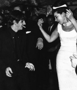 1963 Ringo Starr dancing at a party held by washing-machine tycoon John Bloom