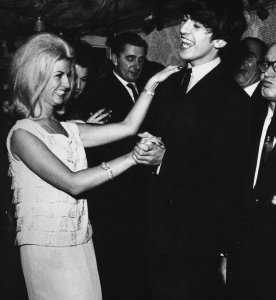 1963 George Harrison dancing at a party held by washing-machine tycoon John Bloom