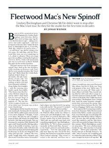 Rolling Stone 29 June 2017.