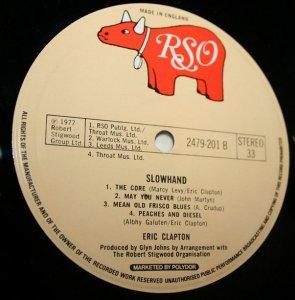 Кстати, авторство композиции Артура Крудапа Mean Old Frisco на мелодиевской пластинке присвоили Клэптону, хотя на изначальной пластинке 1977 года указан именно Крудап.
