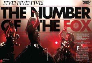 Five! Five! Five! The Number of The Fox. Kerrang! (5 August 2017) беседует с девушками из Babymetal.
