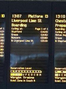 На следующее утро, 24 августа, Лондон давай-до свидания и здравствуй Ливерпуль.