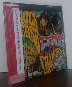 Chuck Berry – Live At The Fillmore Auditorium (UICY-78378)