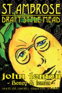 А кроме бельгийского пива есть еще и медовуха John Lemon американского разлива...