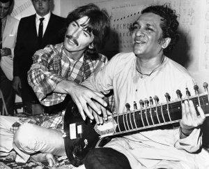 Вспомнились слова Джорджа,который говорил,что на ситаре сможет по-настоящему правильно играть только индиец...
