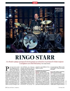 Rolling Stone France October 2017.