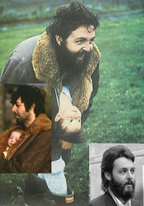 * Заметно подросла дочка Пола Мэри - обратите внимание на её волосики.