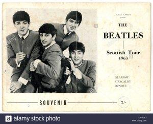Концертная программа «Битлз» шотландского тура 1963 года