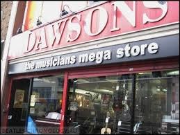 музыкальный магазин Доусона, Widnes