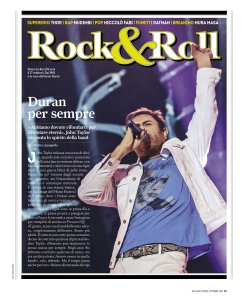 Rolling Stone Italy October 2017.