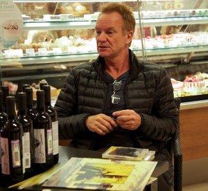 3 октября Стинг и его жена Труди представили продукцию своего Итальянского поместья Il Palagio в одном из винных бутиков «Азбуки вкуса».