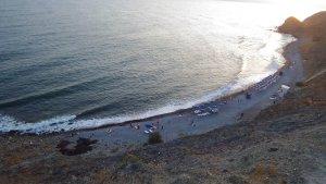 Агатовый пляж в Орджо