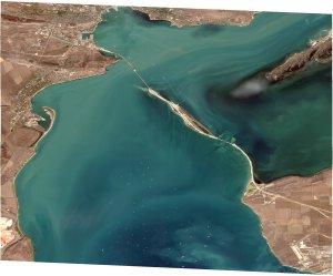 Боспор Киммерийский, фото со спутника WV02, 12-го